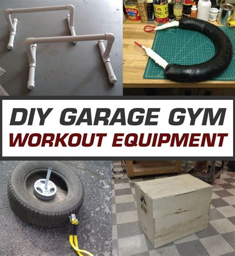 diy garage equipment best diy workout equipment eoua