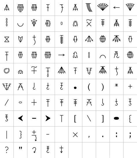 pattern fonts crochet fonts 4u hf crochet pinterest