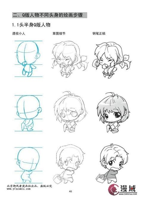 tutorial menggambar anime chibi 171 best images about chibi tutorials on pinterest chibi