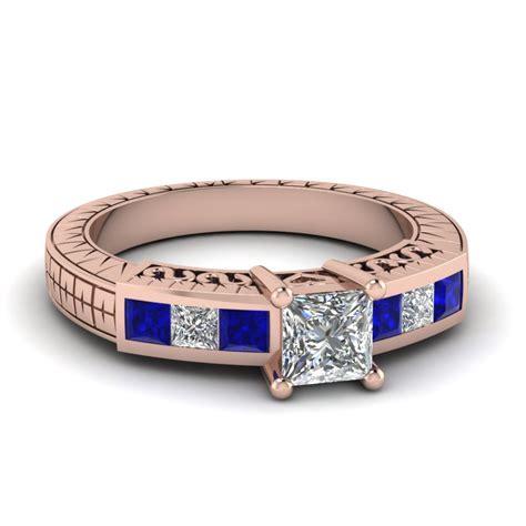 princess lattice ring fascinating diamonds