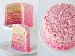pinker kuchen pink ombre swirl cake glorious treats