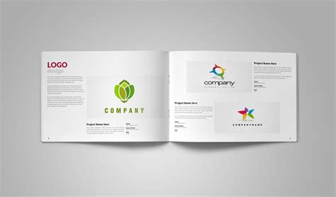 Graphic Design Portfolio Template Brochure Templates On Creative Market Pdf Template Design