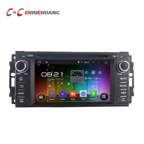 hd player for android hd 1024x600 android 5 1 1 car dvd player for chrysler 300c with radio gps navigation