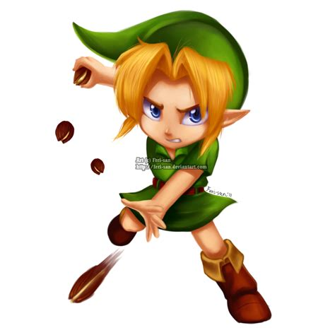 Link Time Fabsugar Want Need 59 by Collab Deku Nut By Ferisae On Deviantart