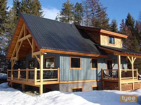 lovely chalet style home plans 7 hybrid timber frame