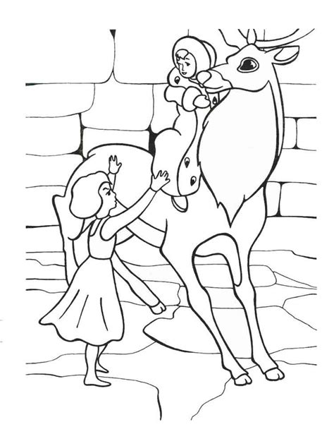 coloring pages of the queen the snow queen coloring pages free printable the snow