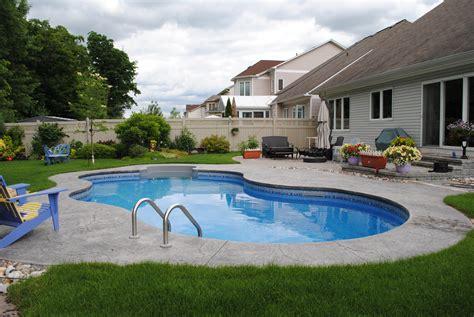 backyard swimming pools above ground triyae backyard above ground swimming pool ideas