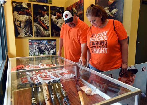 broken bats used baseballs orioles store sells it all