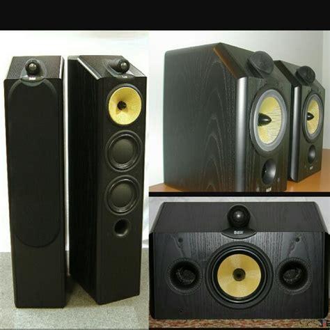 b w cmd 9nt floorstanding loudspeaker with cdm 1nt center