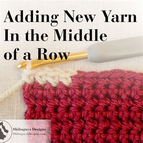 how to add a of yarn when knitting the top five free crochet and knitting tutorials from