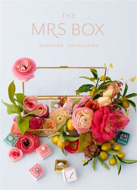 Wedding Heirloom Box by Heirloom Ring Boxes From The Mrs Box Weddings