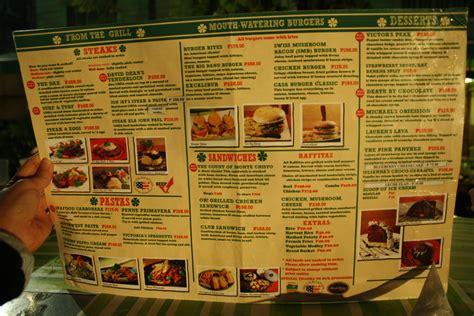 The Detox Bar Cebu Menu by Casa Verde Whiteboard