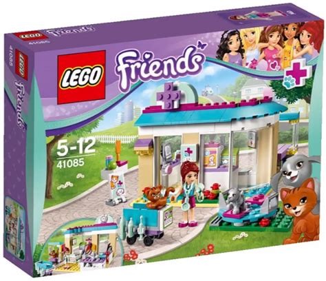 lego friends vet clinic new lego friends 2015 pets vets pools and a balloon