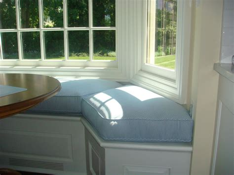 bay window bench cushions bay window seat cushion for kitchen window seat cushions