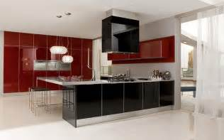 Contemporary Kitchen Furniture by Ultra Modern Glossy Kitchen Judy By Futura Cucine Digsdigs