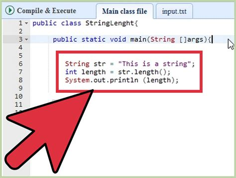 String How To - how to get the length of a string in java 2 steps with