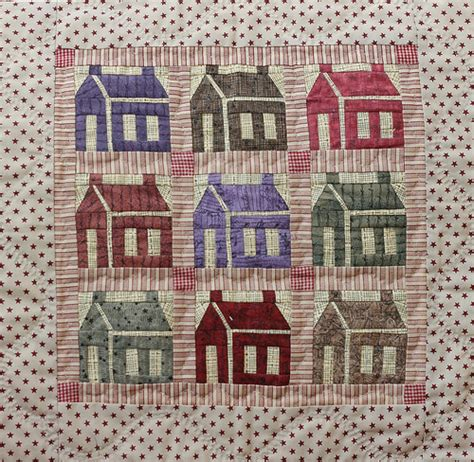 Patchwork House - flickriver photoset patchwork quilting and applique by