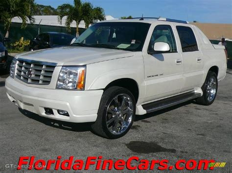 2003 white cadillac escalade ext awd 1433252 gtcarlot car color galleries