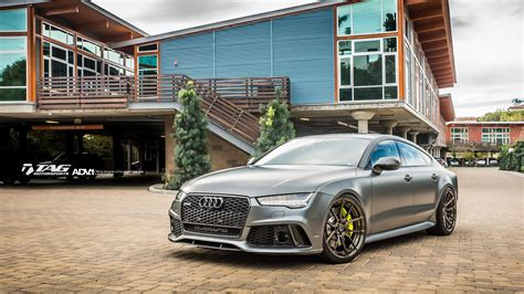 Matte Grey Audi Rs7 by Matte Gray Audi Rs7 With Adv 1 Wheels By Tag Motorsports