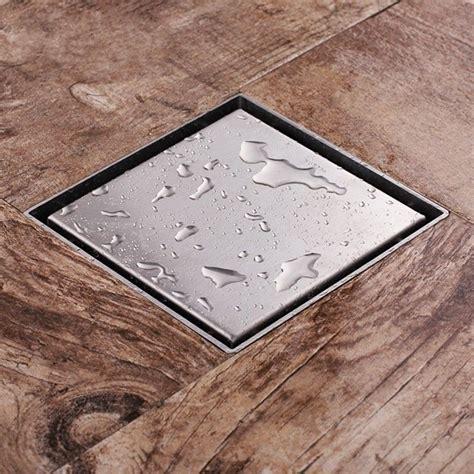 Square Shower Drain by Square Shower Drain Bath Room Channel Waste Drain Tile Floor 52mm Triangle Ebay