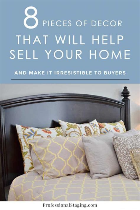 sell home decor products 8 pieces of decor that will help sell your home