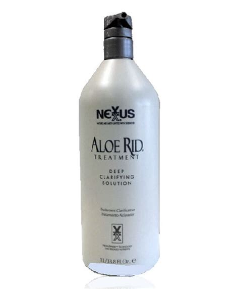 What Is Nexxus Rid Detox Shoo by Nexxus Nexxus Aloe Rid Treatment Clarifying