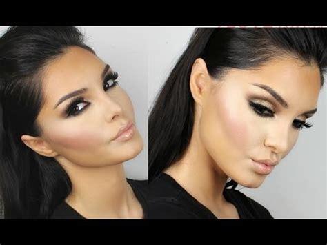 youtube tutorial kim kardashian brown smokey eye makeup tutorial style guru fashion
