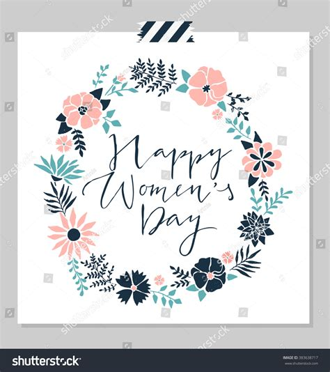 S Day Card Design Template by Womens Day Design Card Template Stock Vector 383638717