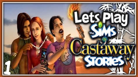 sims r city stories let s play the sims castaway stories part 1 monkeys