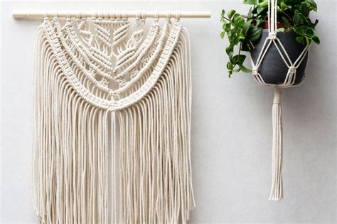Come Macrame With Me - macrame wall hangings plant hangers buy or diy