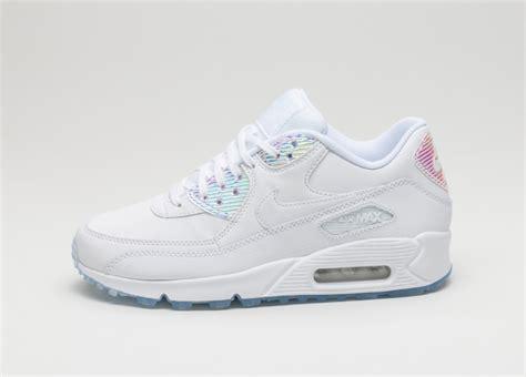New Sepatu Nike Airmax White Hologram nike wmns air max 90 prm white white blue tint