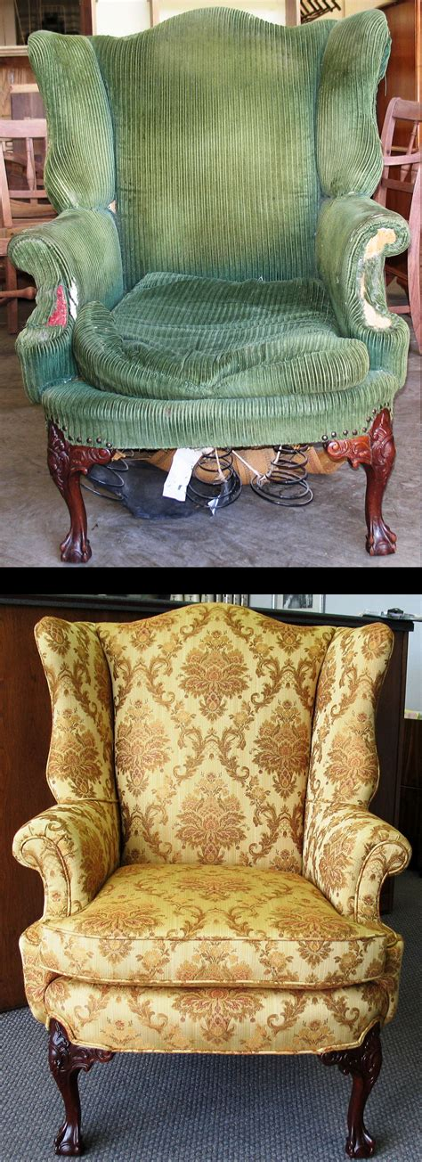 Upholstery Before And After by Upholstery Ackerman S Furniture Service