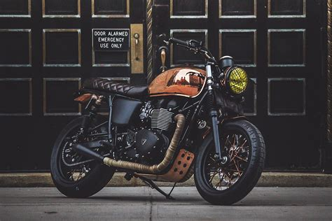 Livingroom by Miss Moneypenny Nyc Triumph Bonneville Return Of The