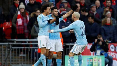 arsenal carabao cup arsenal 0 3 manchester city carabao cup final 2018 report