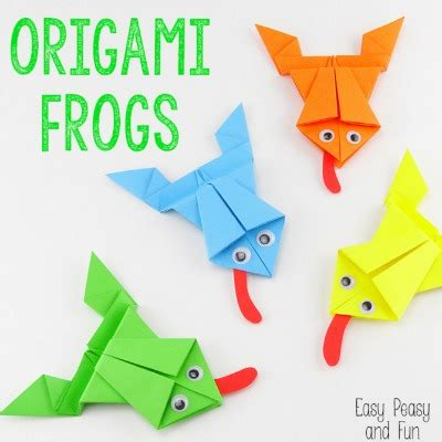 25 Best Ideas About Origami Frog On Easy - twenty frog crafts for leap year u create