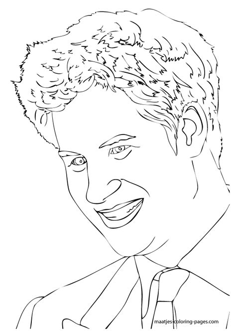 coloring pages royal family prince harry coloring pages