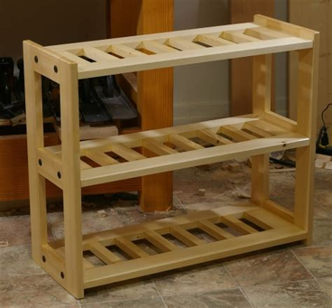 Shoe Rack Wooden Design by Shoe Shelf Design Plans Plans Diy Free Mini Wood