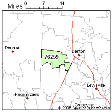 ponder texas map best place to live in ponder zip 76259 texas