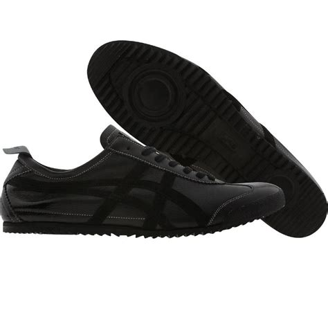 Onitsuka Tiger Mexico 66 Deluxe Black asics onitsuka tiger mexico 66 deluxe nippon made collection in black and black products