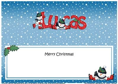 merry christmas lucas snowmen matching large dl insert cup craftsuprint