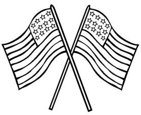 american color american flag printable coloring pages