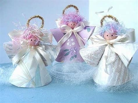 Wallpaper Angel Craft | paper cone angels youtube
