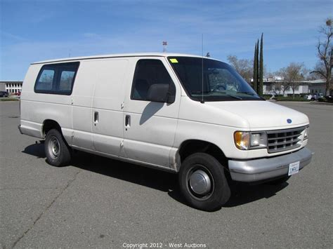 how to learn about cars 1992 ford econoline e350 seat position control west auctions auction summer hill bankruptcy liquidation auction 3 item 1992 ford