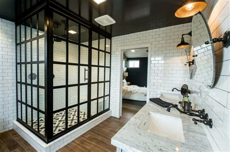 modern industrial bathroom contemporary farmhouse industrial bathroom dc metro