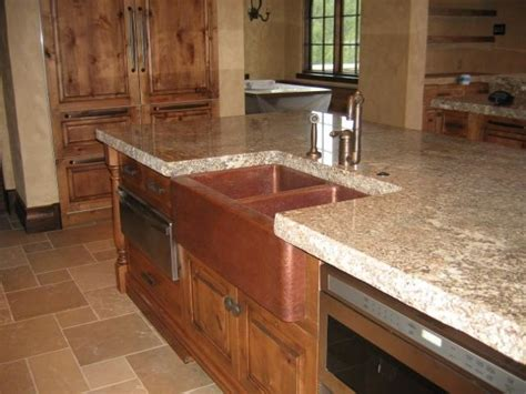 mountain rustic farm front copper kitchen sink mountain copper photos kitchens copper sinks