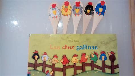 las diez gallinas coleccion una actividad para cada cuento las diez gallinas con diy de las marionetas 171 happy mama