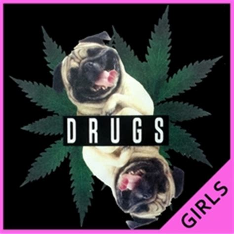 pugs and drugs t shirt stoner pothead t shirts