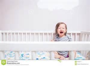 Baby In Crib Baby In Crib Stock Photo Image 55038727