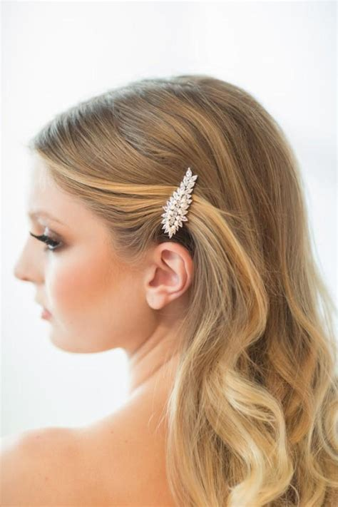 Wedding Hair Clip Accessories by Wedding Hair Clip Wedding Hair Accessory Bridal Hair