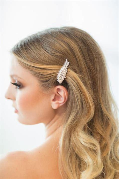 Wedding Hair With Clip by Wedding Hair Clip Wedding Hair Accessory Bridal Hair